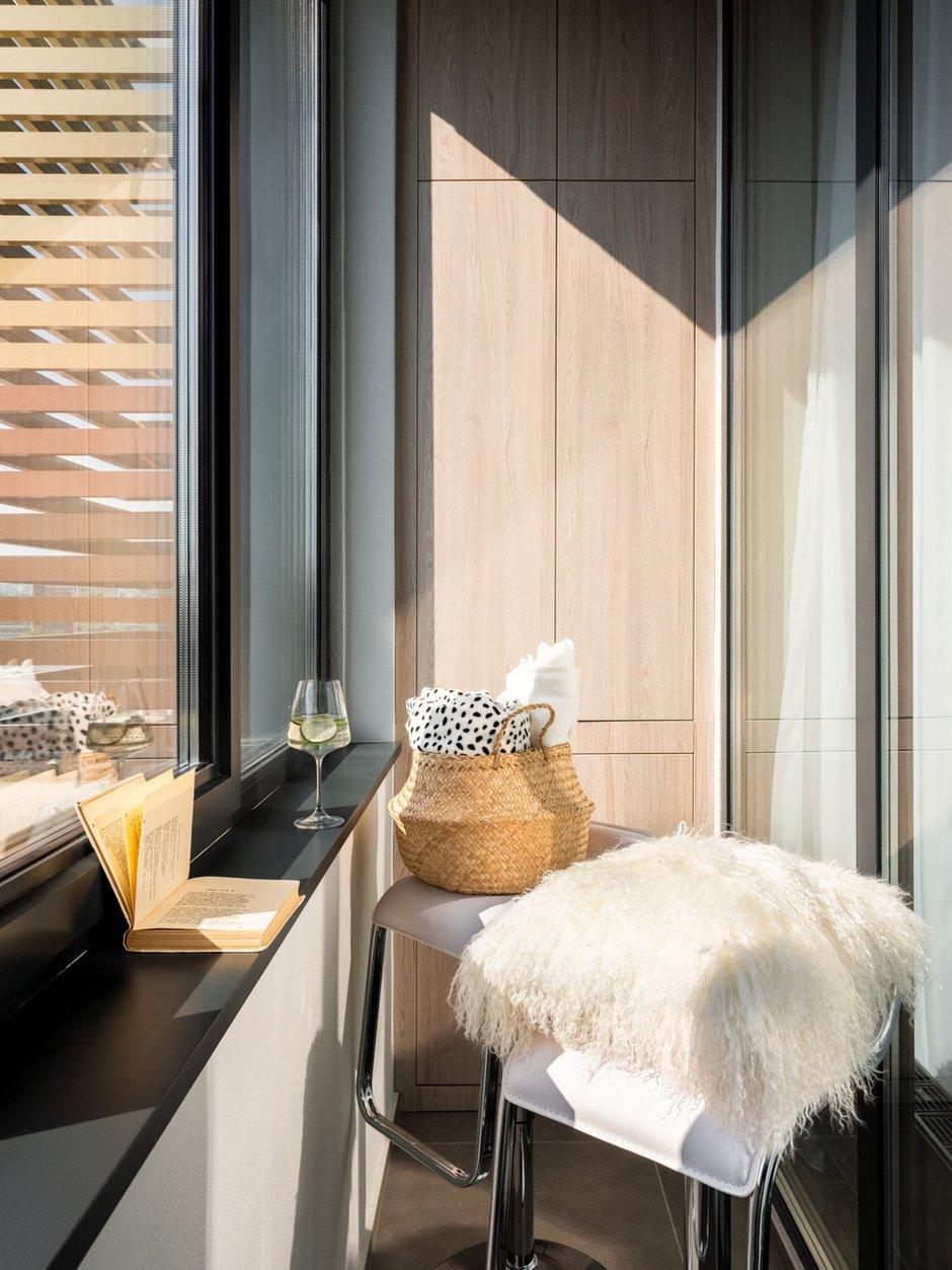 Фотография: Балкон в стиле Современный, Квартира, Студия, Проект недели, Москва, 40-60 метров, D.A. Interior Design – фото на INMYROOM