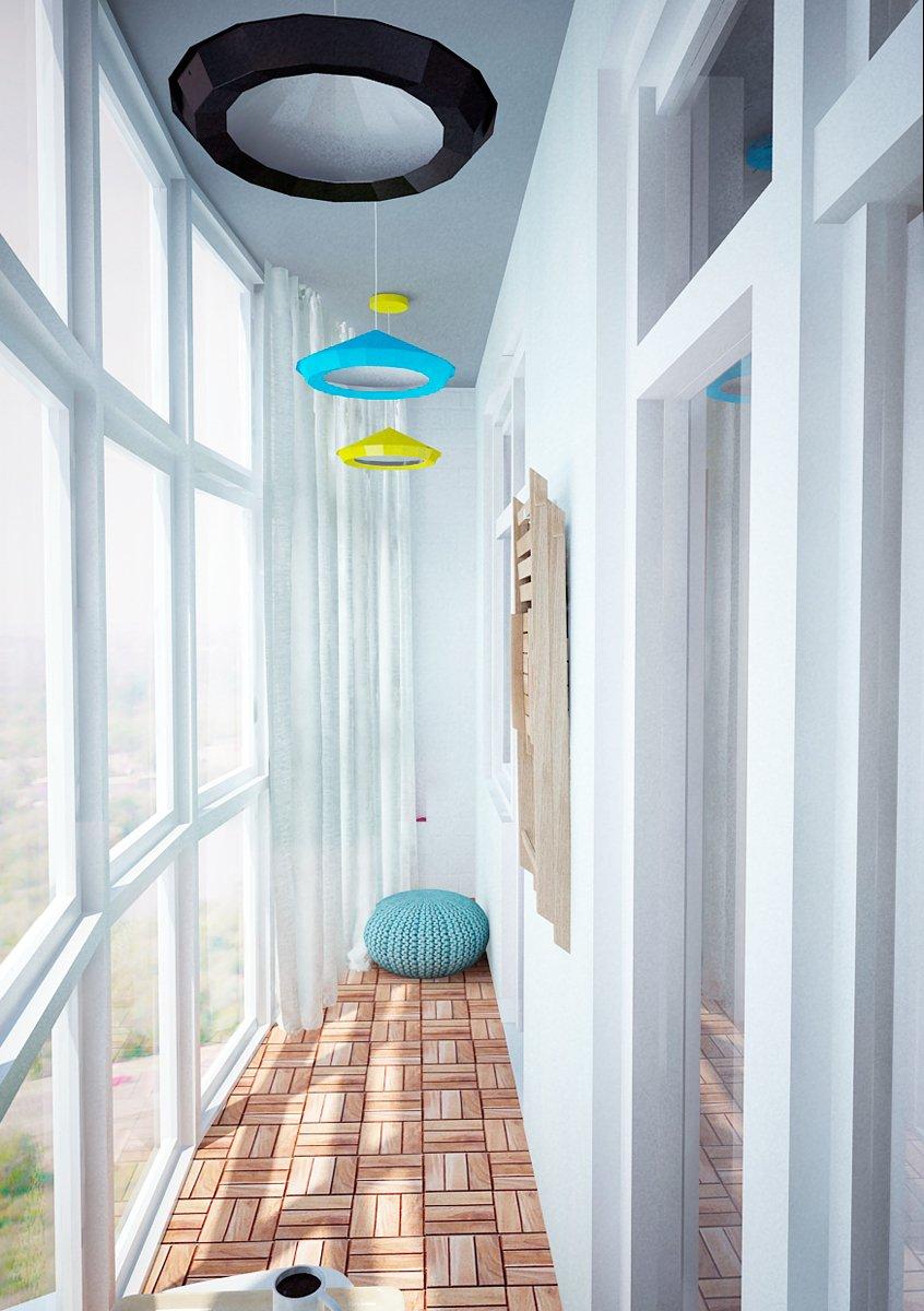 Фотография: Балкон, Терраса в стиле Лофт, Скандинавский, Квартира, Дома и квартиры, IKEA, Проект недели – фото на INMYROOM