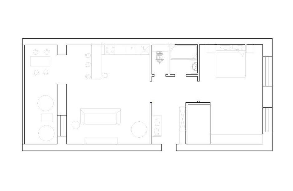 Фотография: Планировки в стиле , Декор интерьера, Квартира, Дома и квартиры, Минимализм, Проект недели – фото на INMYROOM