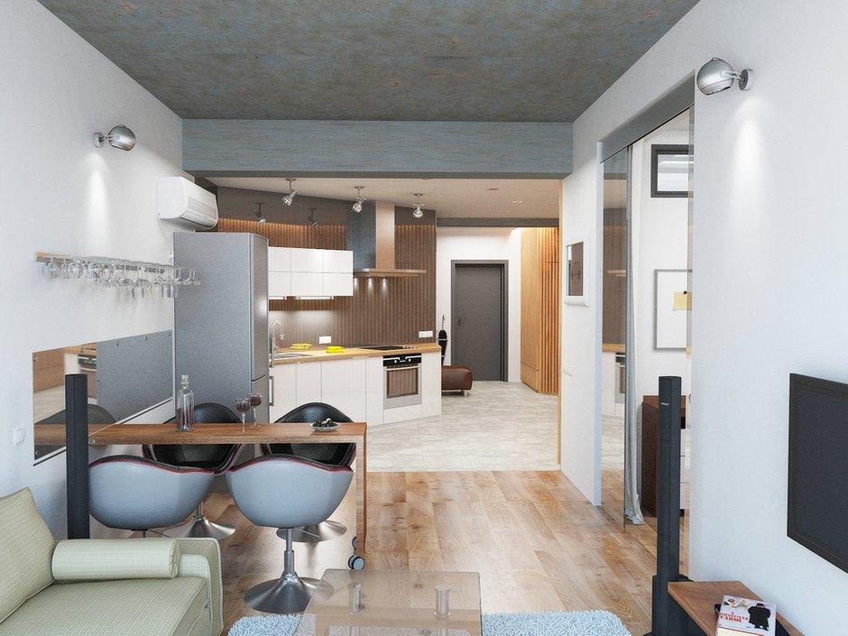 Фотография: Кухня и столовая в стиле Лофт, Современный, Декор интерьера, Квартира, Globo, Massive, Дома и квартиры, IKEA, Проект недели, Ideal Lux – фото на InMyRoom.ru