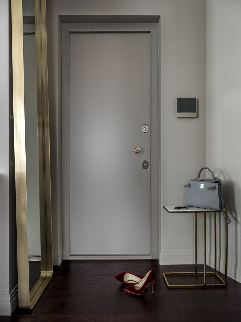 Фотография: Прихожая в стиле Современный, Квартира, Проект недели, Москва, 3 комнаты, 60-90 метров, Notum Project, Александра Сергеева – фото на INMYROOM