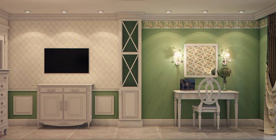 Фотография: Спальня в стиле Классический, Эклектика, Прованс и Кантри, Квартира, Проект недели – фото на INMYROOM