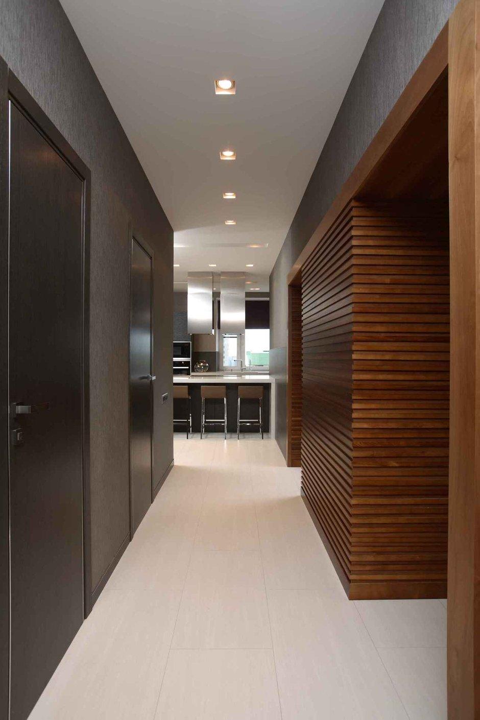 Фотография: Прихожая в стиле Современный, Квартира, Дома и квартиры – фото на INMYROOM