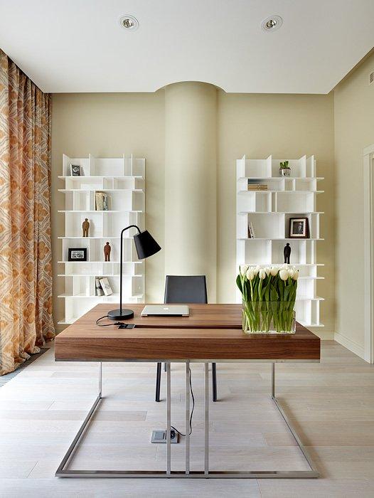 Фотография: Офис в стиле Лофт, Современный, Восточный, Квартира, BoConcept, Дома и квартиры, Проект недели – фото на INMYROOM