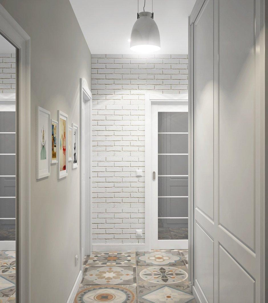 Фотография: Прихожая в стиле Скандинавский, Квартира, Цвет в интерьере, Дома и квартиры, Белый, Проект недели – фото на INMYROOM