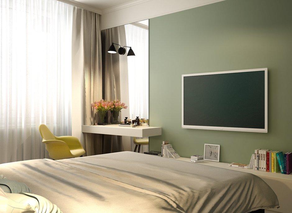 Фотография: Спальня в стиле Современный, Квартира, Проект недели, Анастасия Туганова – фото на INMYROOM
