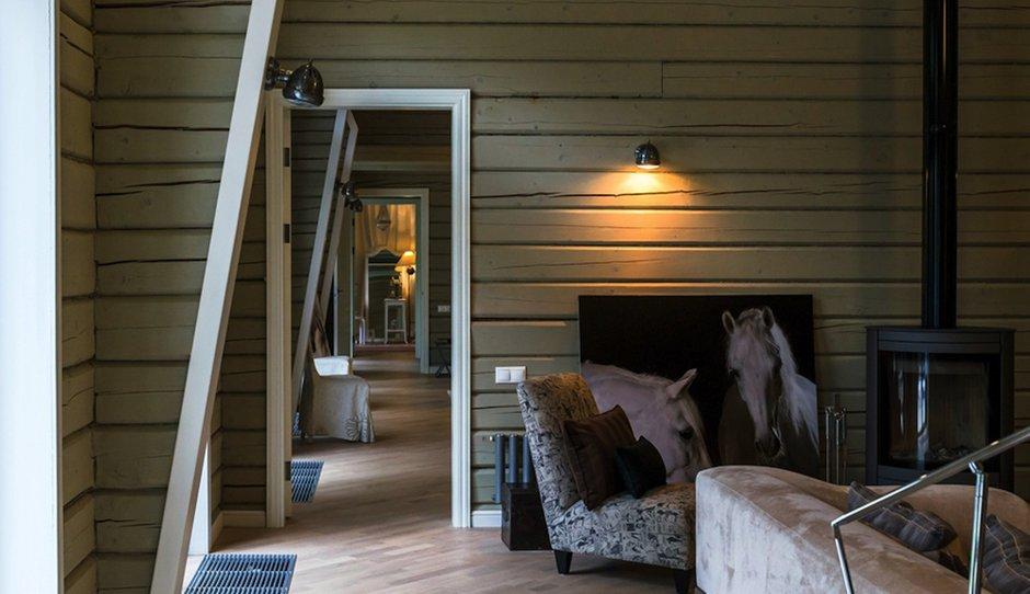 Фотография: Прихожая в стиле Прованс и Кантри, Дом, Дома и квартиры, Проект недели, Дача, dom-iz-brusa – фото на INMYROOM