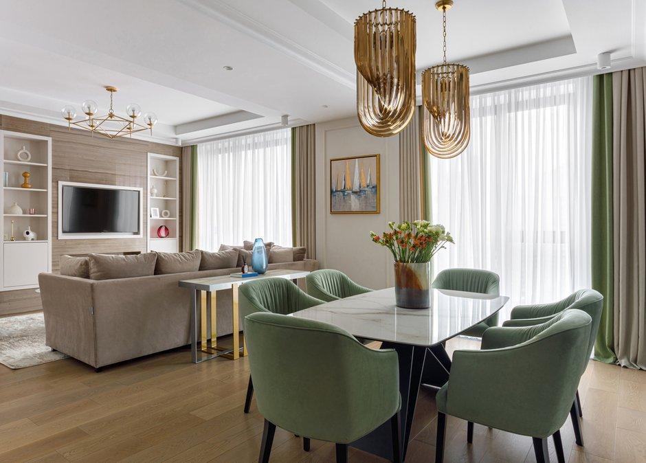 Фотография: Кухня и столовая в стиле Современный, Квартира, Проект недели, Москва, 3 комнаты, Более 90 метров, Balcon – фото на INMYROOM