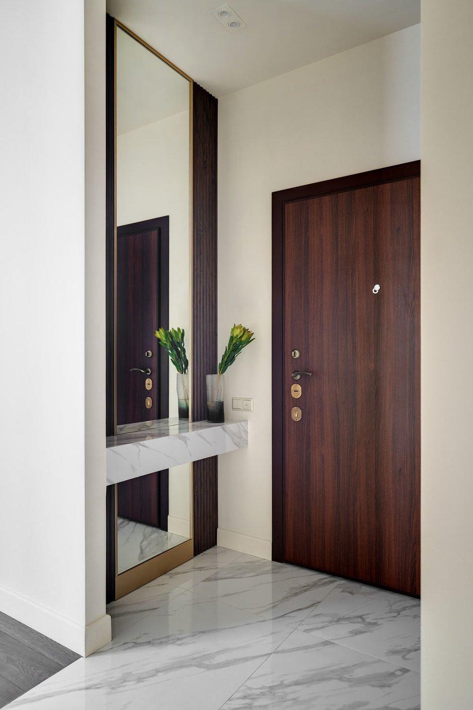Фотография: Прихожая в стиле Современный, Квартира, Проект недели, Москва, 3 комнаты, 60-90 метров, Алена Чмелева – фото на INMYROOM