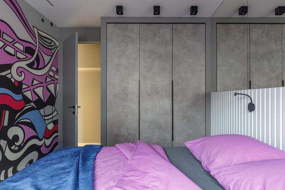 Фотография: Спальня в стиле Современный, Квартира, Проект недели, Санкт-Петербург, 2 комнаты, 60-90 метров, Balka.Studio – фото на INMYROOM