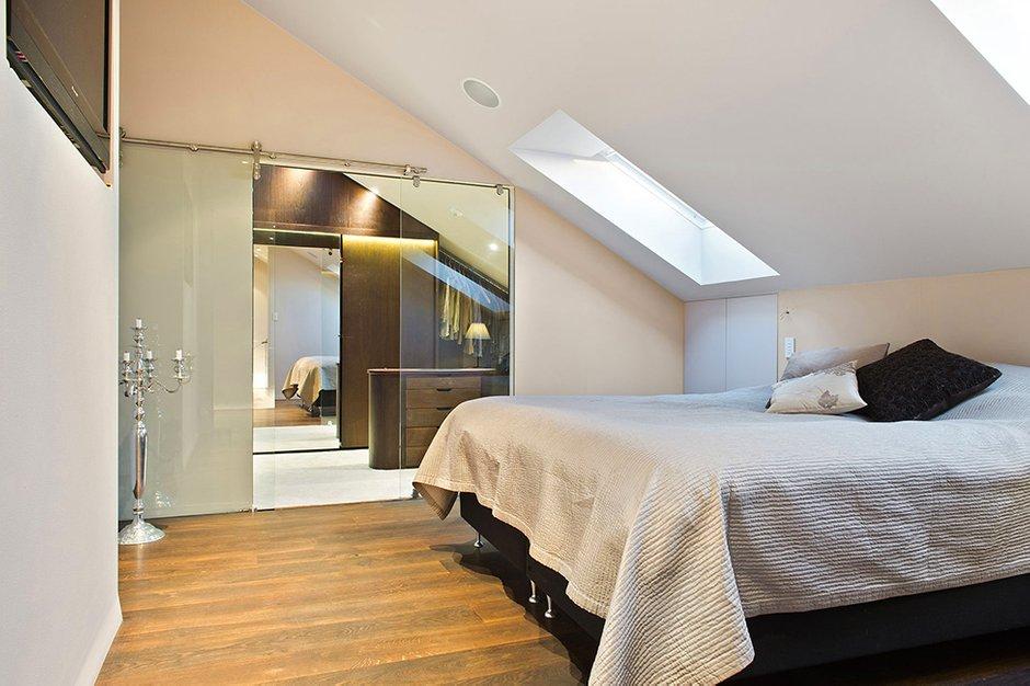 Фотография: Спальня в стиле Современный, Квартира, Швеция, Дома и квартиры, Пентхаус, Стокгольм – фото на INMYROOM