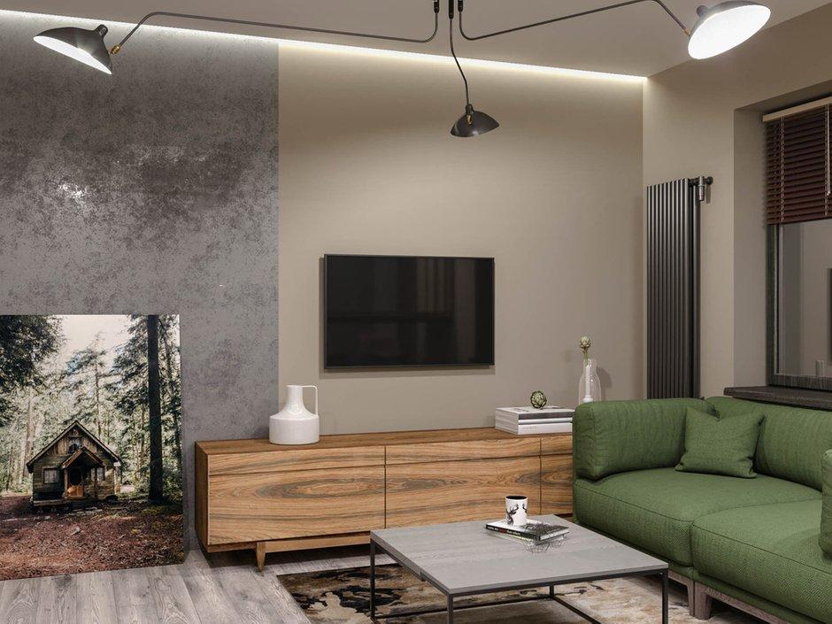 Фотография: Гостиная в стиле Современный, Студия, Проект недели, Москва, до 40 метров, Konceptimo – фото на INMYROOM