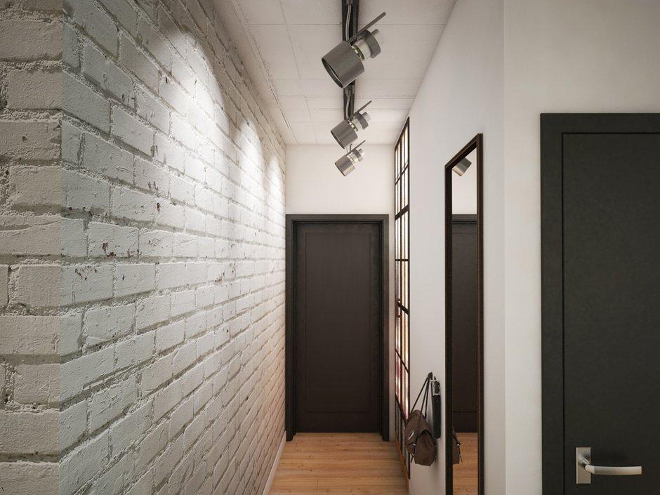 Фотография: Прихожая в стиле Лофт, Эклектика, Квартира, Проект недели, ИКЕА, Circle Line – фото на INMYROOM