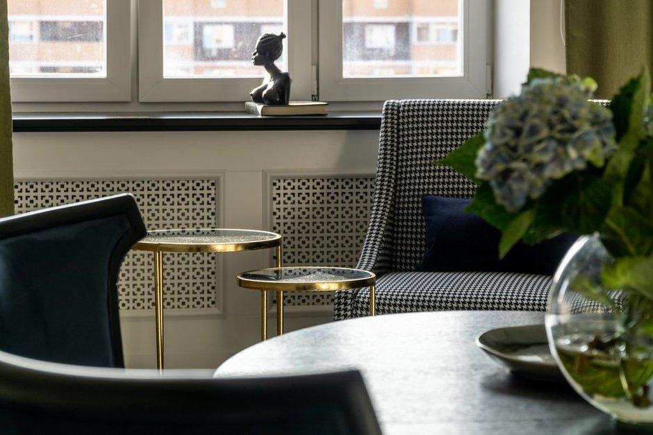 Фотография: Кухня и столовая в стиле Классический, Современный, Квартира, Белый, Проект недели, Москва, Бежевый, 3 комнаты, Более 90 метров, Кристина Изотова – фото на INMYROOM