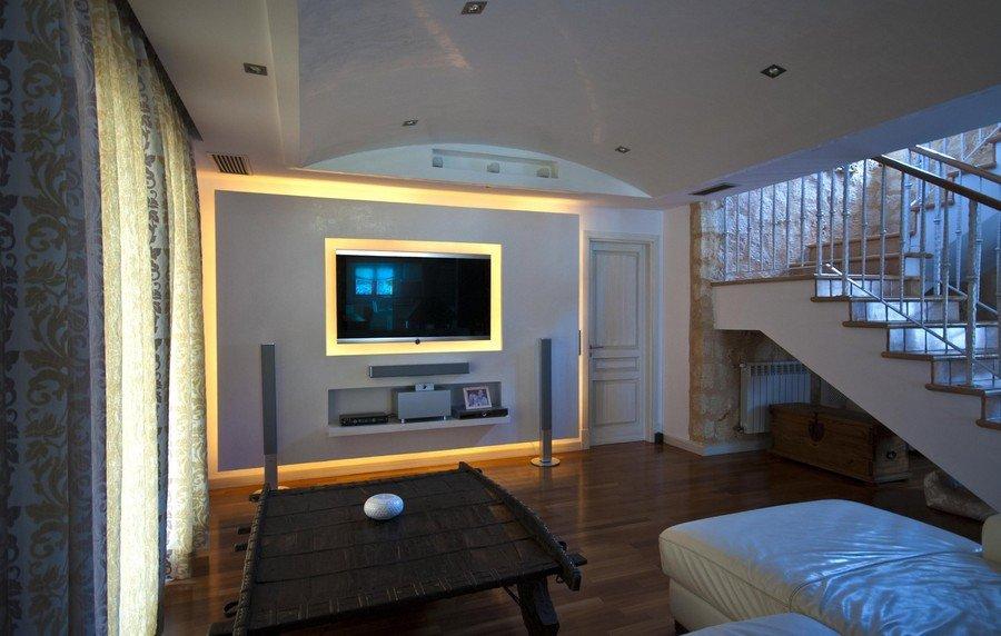 Фотография: Гостиная в стиле , Дом, Испания, Дома и квартиры, Средиземноморский – фото на InMyRoom.ru