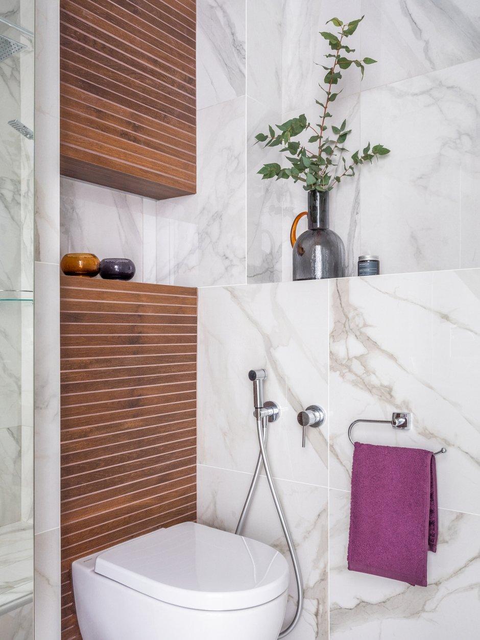 Фотография: Ванная в стиле Современный, Квартира, Студия, Проект недели, Москва, 40-60 метров, D.A. Interior Design – фото на INMYROOM