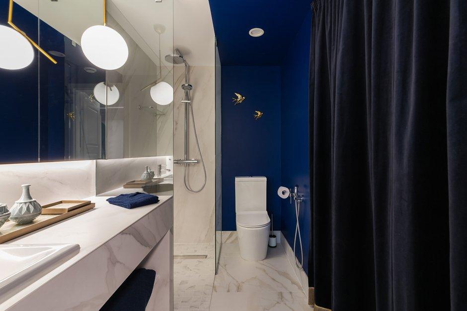 Фотография: Ванная в стиле Современный, Квартира, Проект недели, Санкт-Петербург, Ульяна Скапцова, 2 комнаты, 40-60 метров, US Interior – фото на INMYROOM