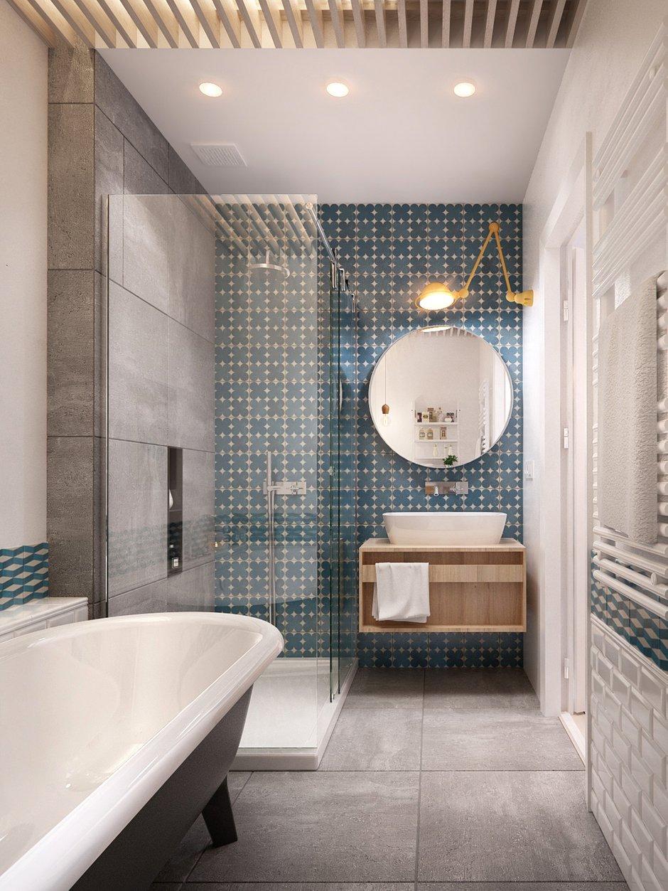 Фотография: Ванная в стиле Лофт, Квартира, Дома и квартиры, IKEA, Проект недели – фото на INMYROOM