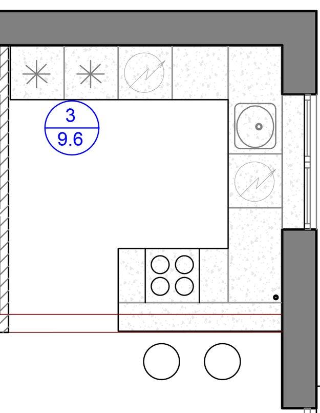 Фотография: Планировки в стиле , Кухня и столовая, Лофт, Современный, Квартира, Проект недели, Москва, Дарья Ельникова – фото на INMYROOM