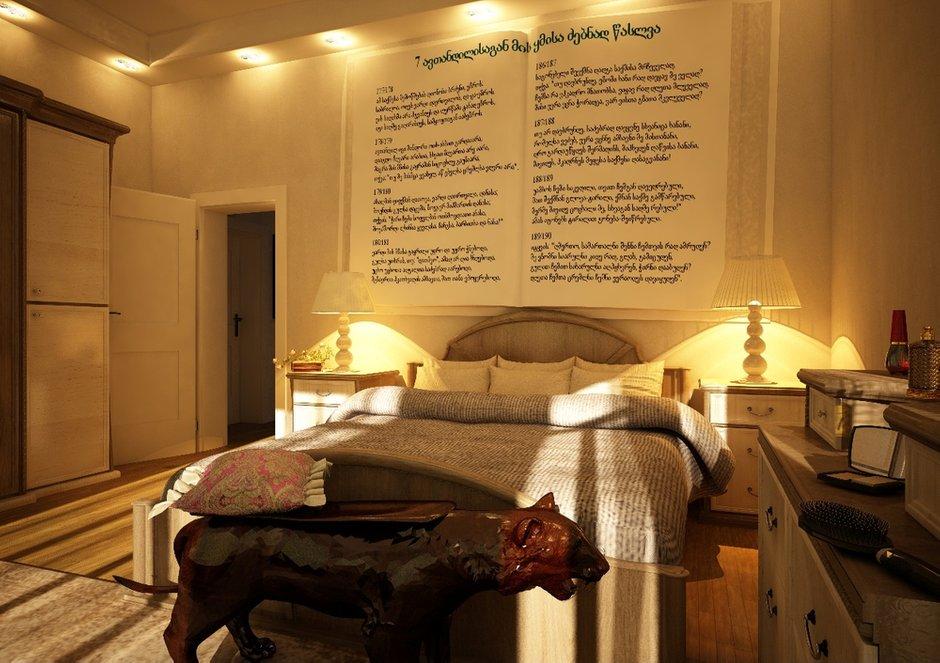 Фотография: Спальня в стиле Эклектика, Дом, Дома и квартиры, Проект недели, Современное искусство – фото на INMYROOM