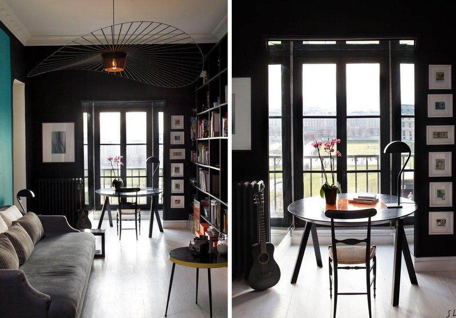 Фотография: Прочее в стиле , Декор интерьера, Квартира, Цвет в интерьере, Дома и квартиры, Черный, Париж – фото на INMYROOM