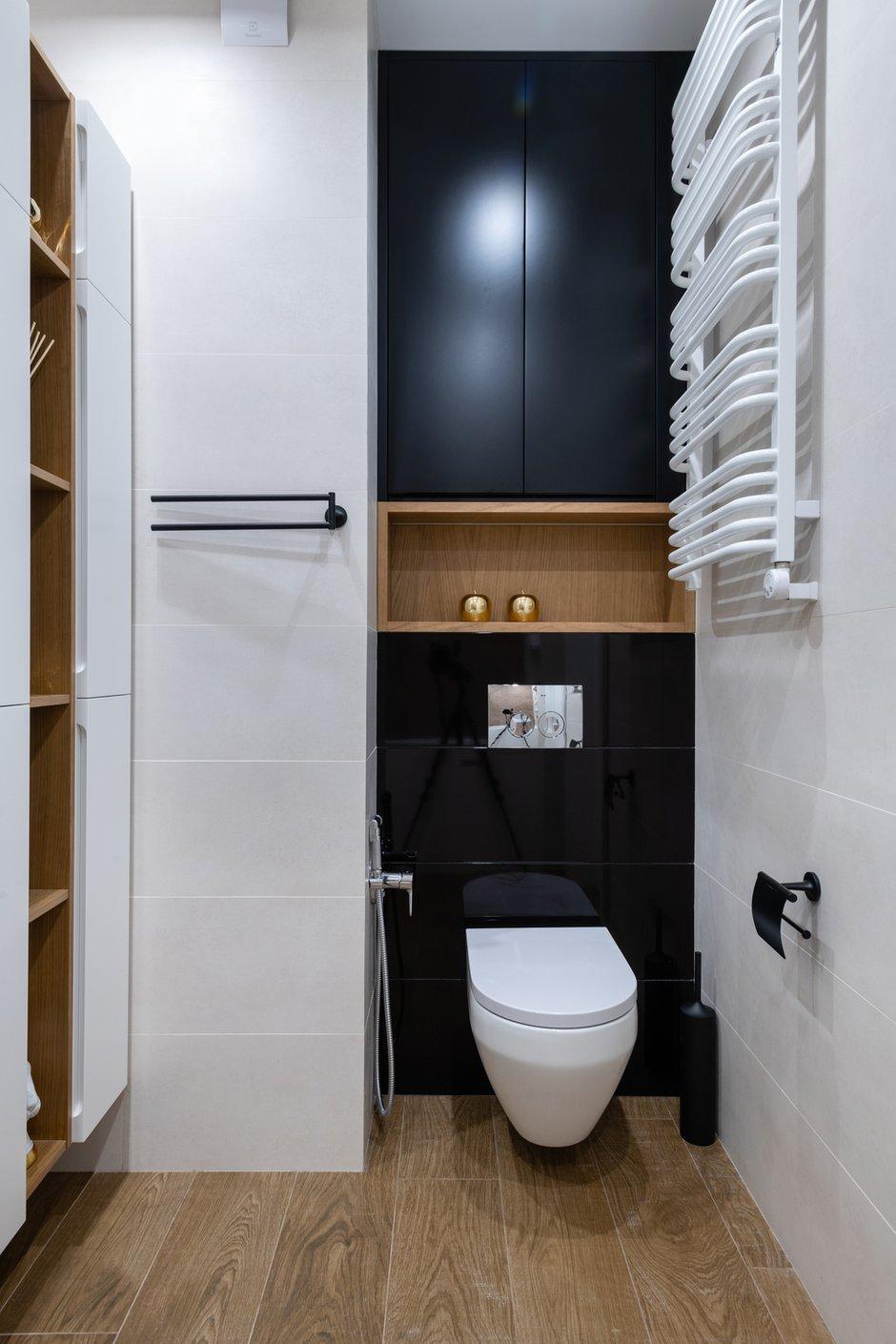 Фотография: Ванная в стиле Современный, Квартира, Проект недели, 2 комнаты, 40-60 метров, Александра Гартке – фото на INMYROOM