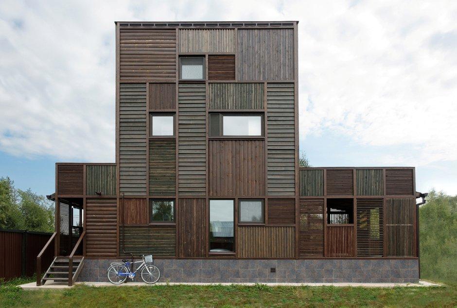 Фотография: Архитектура в стиле , Дом, Дома и квартиры, Проект недели, Дача – фото на INMYROOM