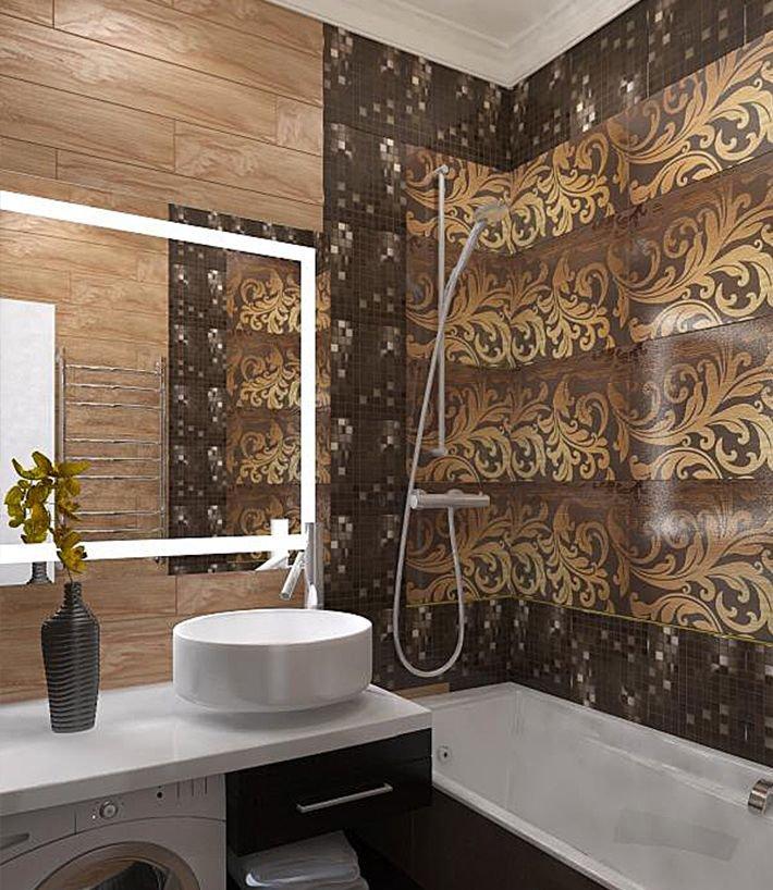 Фотография: Ванная в стиле Современный, Классический, Эклектика, Квартира, Проект недели – фото на INMYROOM