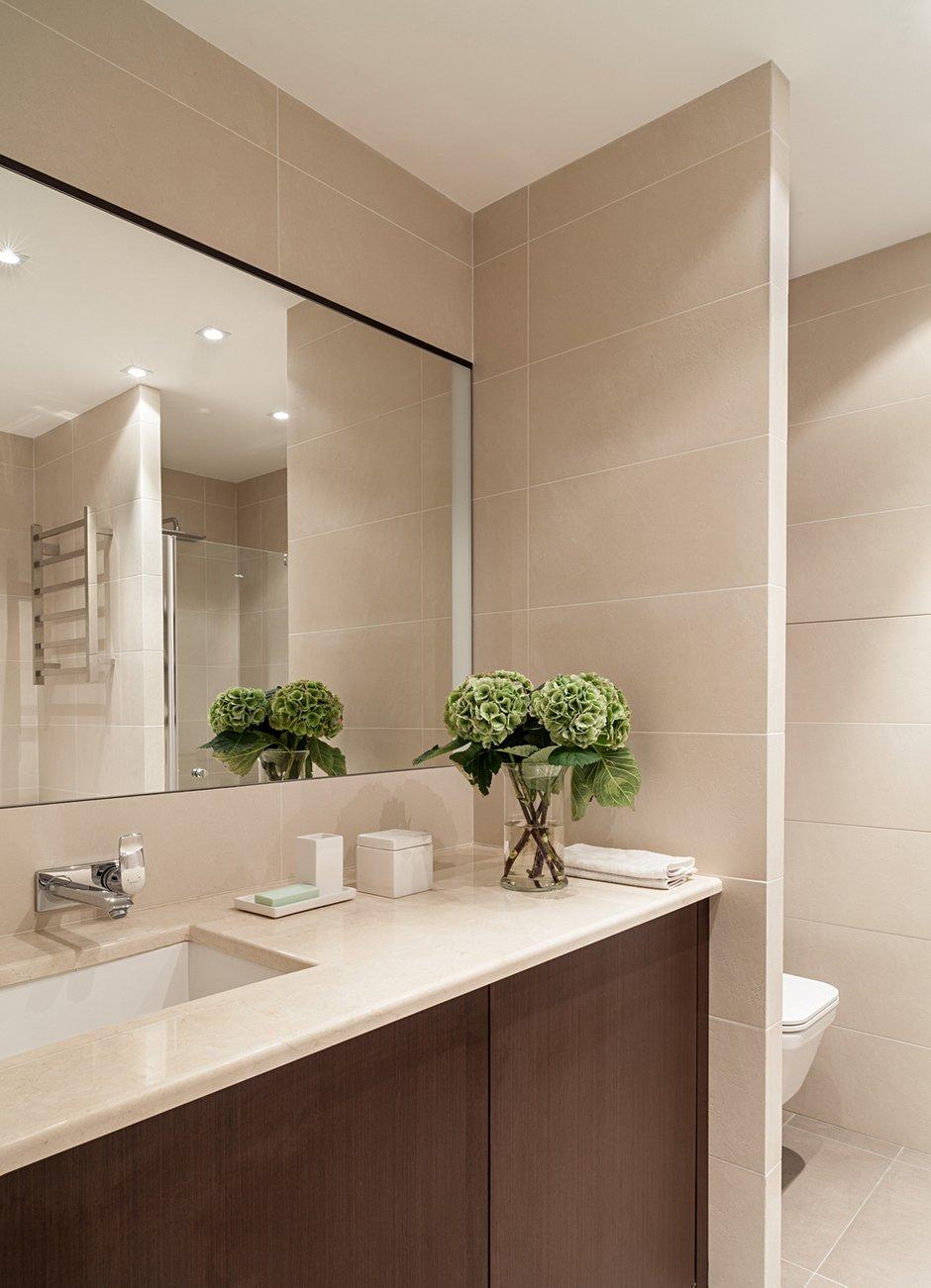 Фотография: Ванная в стиле Современный, Классический, Квартира, Дома и квартиры, IKEA, Проект недели, Дина Салахова – фото на INMYROOM