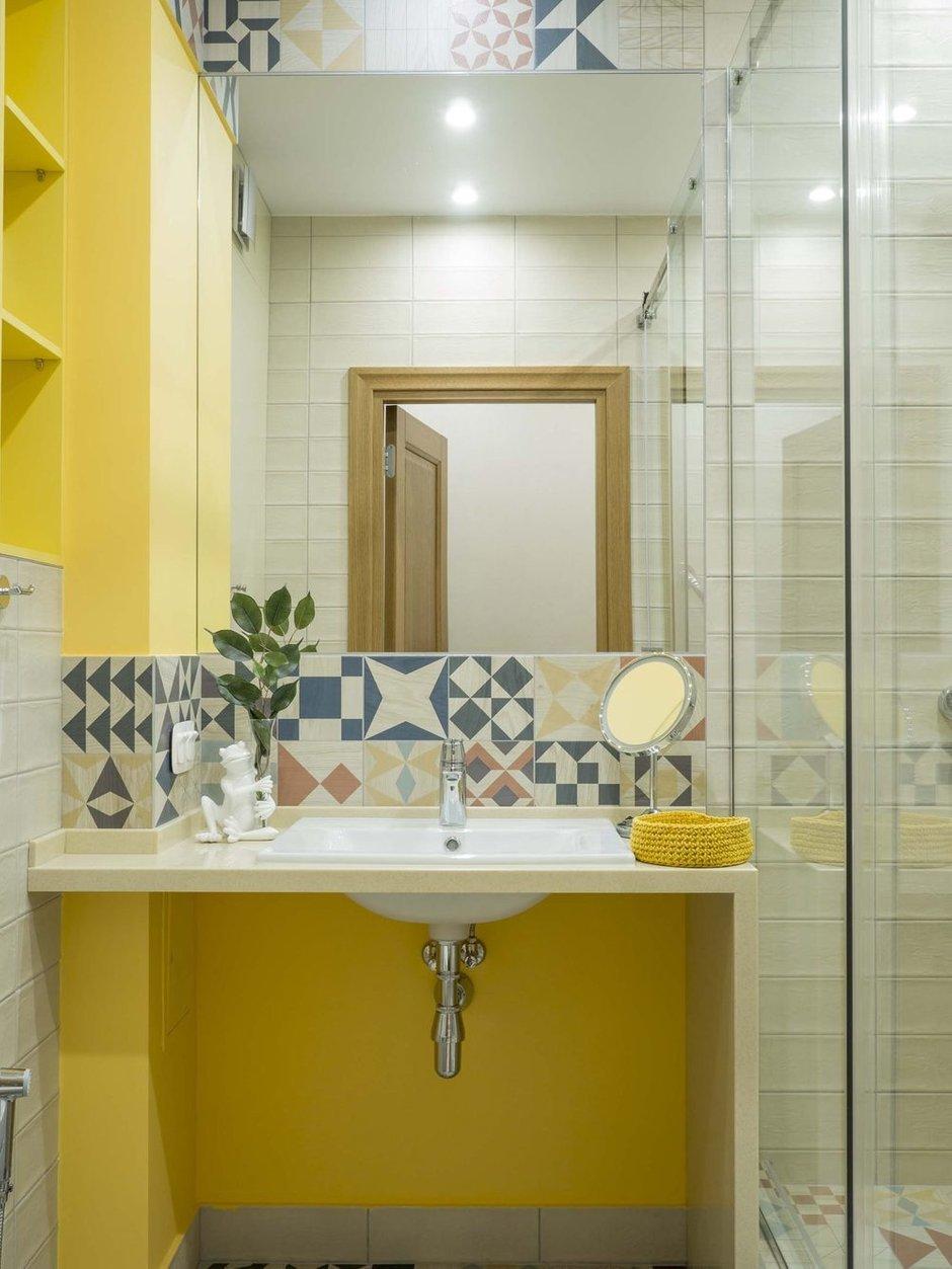Фотография: Ванная в стиле Современный, Квартира, Проект недели, Нижний Новгород, 4 и больше, Более 90 метров, Bilbao Design – фото на INMYROOM