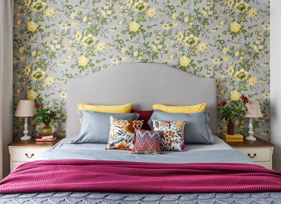 Фотография: Спальня в стиле Прованс и Кантри, Квартира, Проект недели, Москва, NW-Interior, Монолитный дом, 4 и больше, Более 90 метров – фото на INMYROOM