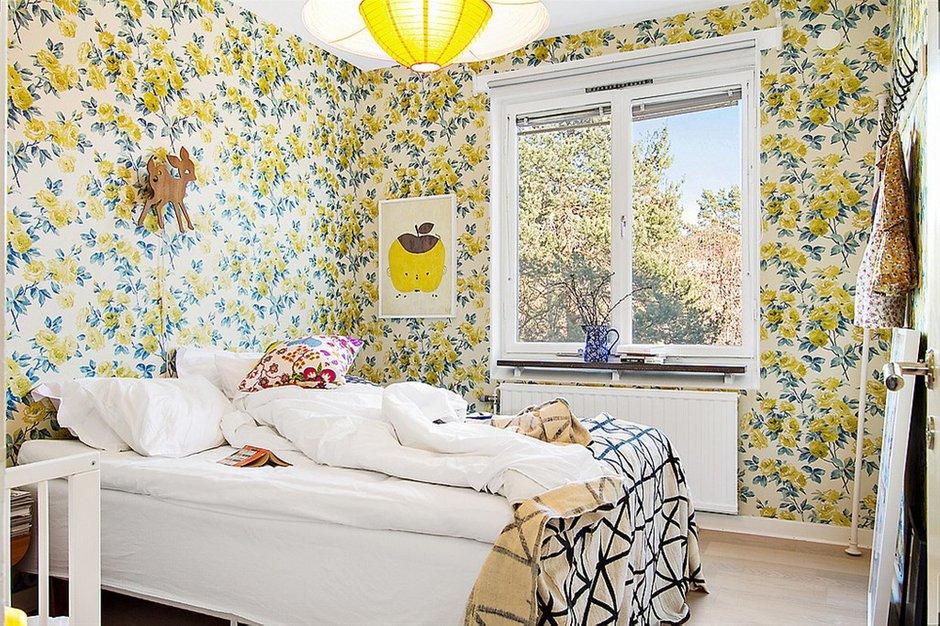 Фотография: Спальня в стиле Прованс и Кантри, Скандинавский, Малогабаритная квартира, Квартира, Франция, Дома и квартиры – фото на INMYROOM