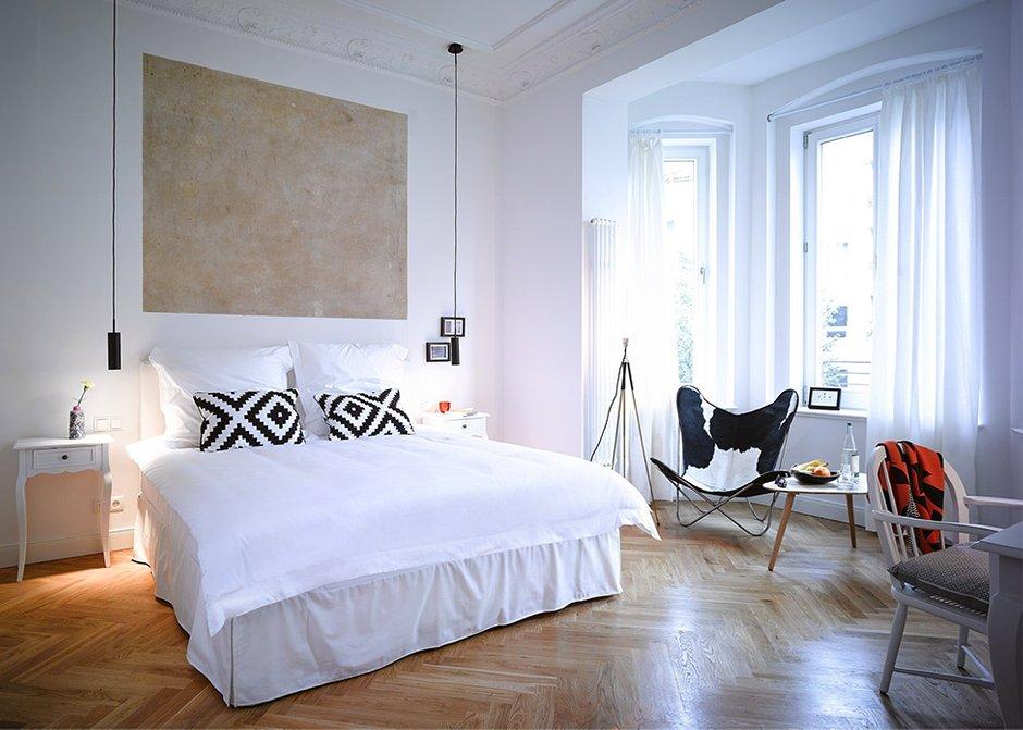 Фотография: Спальня в стиле Скандинавский, Квартира, Германия, Дома и квартиры – фото на INMYROOM