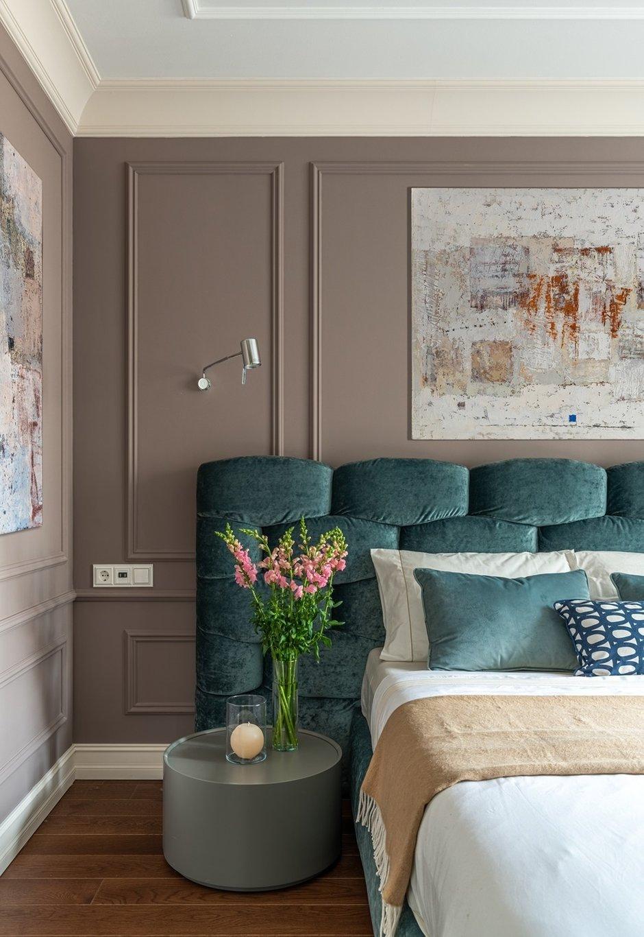 Фотография: Спальня в стиле Современный, Квартира, Проект недели, Москва, 4 и больше, Более 90 метров, Мария Полянская – фото на INMYROOM