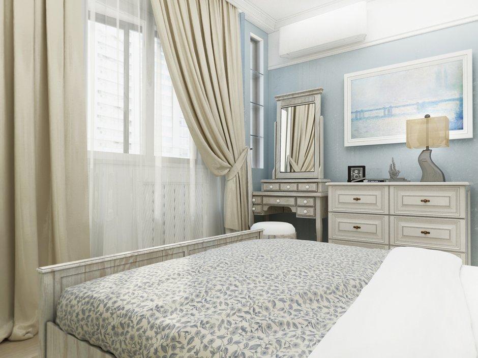 Фотография: Спальня в стиле Прованс и Кантри, Малогабаритная квартира, Квартира, Дома и квартиры, Проект недели, Москва – фото на INMYROOM