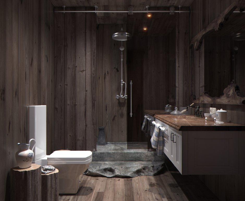 Фотография: Ванная в стиле , Квартира, Дома и квартиры, Перепланировка, Переделка – фото на INMYROOM