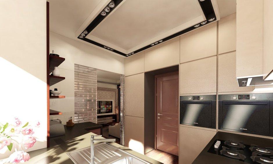 Фотография: Кухня и столовая в стиле Современный, Квартира, Дома и квартиры, Проект недели, Москва – фото на INMYROOM
