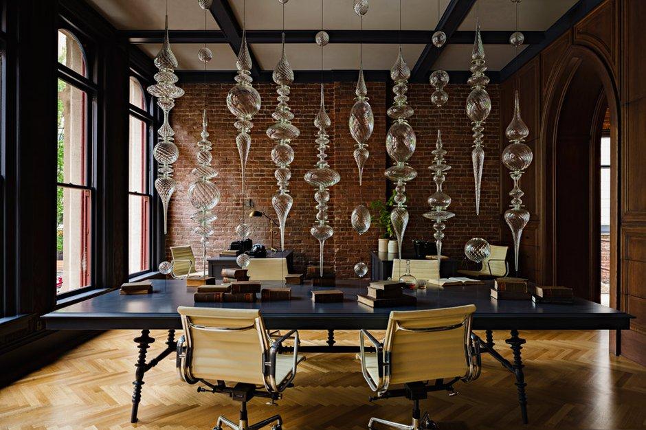 Фотография: Офис в стиле , Офисное пространство, Дома и квартиры, Проект недели, Готический – фото на InMyRoom.ru