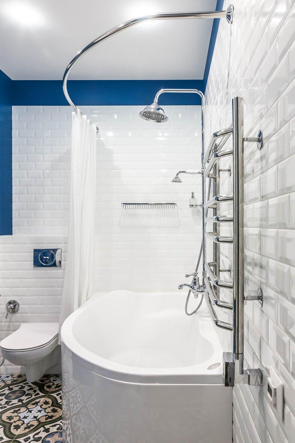 Фотография: Ванная в стиле Современный, Квартира, Проект недели, Москва, 3 комнаты, 60-90 метров, Евгения Постухова – фото на INMYROOM