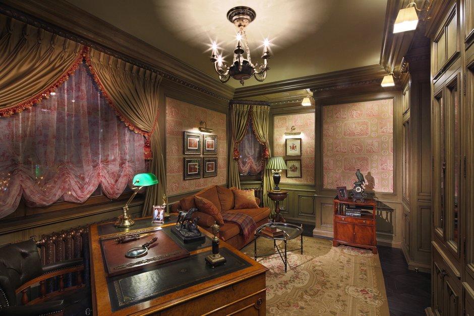 Фотография: Офис в стиле Классический, Квартира, Дома и квартиры, Проект недели – фото на INMYROOM