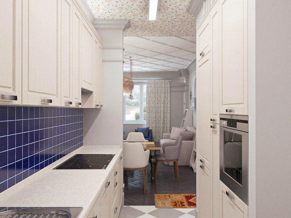 Фотография: Кухня и столовая в стиле Современный, Классический, Эклектика, Квартира, Проект недели – фото на INMYROOM