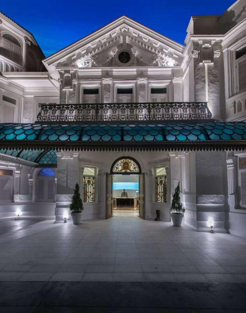 Фотография: Архитектура в стиле , Цвет в интерьере, Дома и квартиры, Городские места, Белый, Отель, Проект недели – фото на INMYROOM