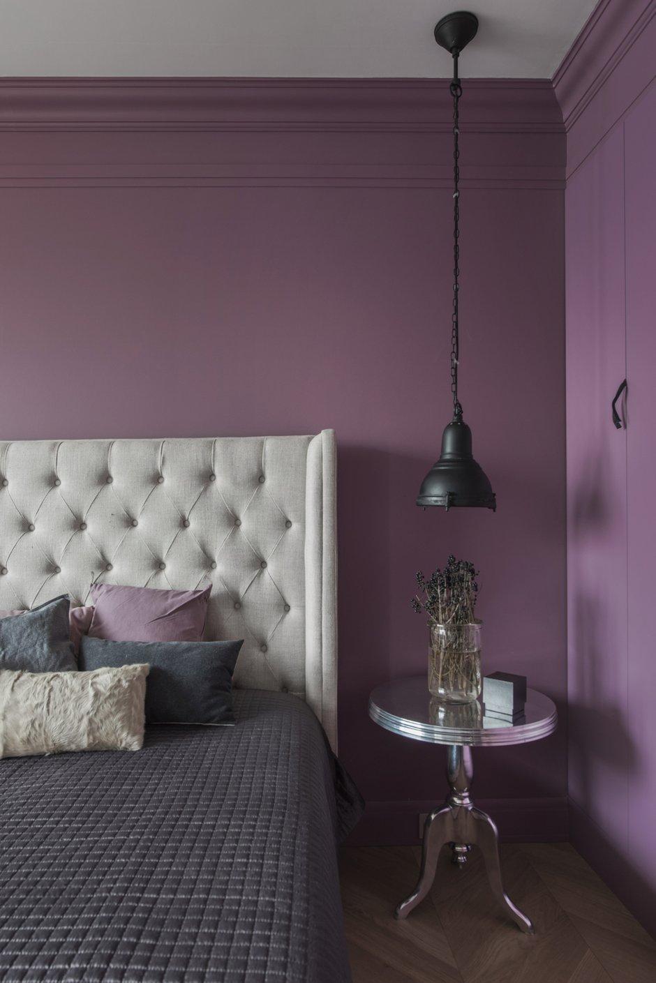 Фотография: Спальня в стиле Эклектика, Квартира, Проект недели, Москва, Кирпичный дом, 3 комнаты, 40-60 метров, Маша Кунякина – фото на INMYROOM
