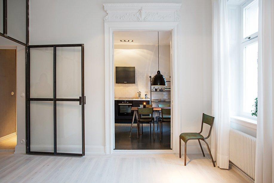 Фотография:  в стиле Современный, Скандинавский, Малогабаритная квартира, Квартира, Дома и квартиры, Стокгольм – фото на INMYROOM