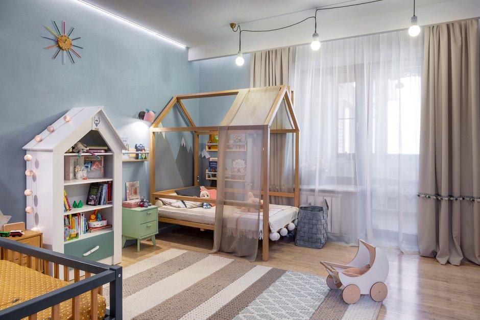 Фотография: Детская в стиле Современный, Квартира, Проект недели, Москва, 3 комнаты, 60-90 метров, Анна Никитина – фото на INMYROOM