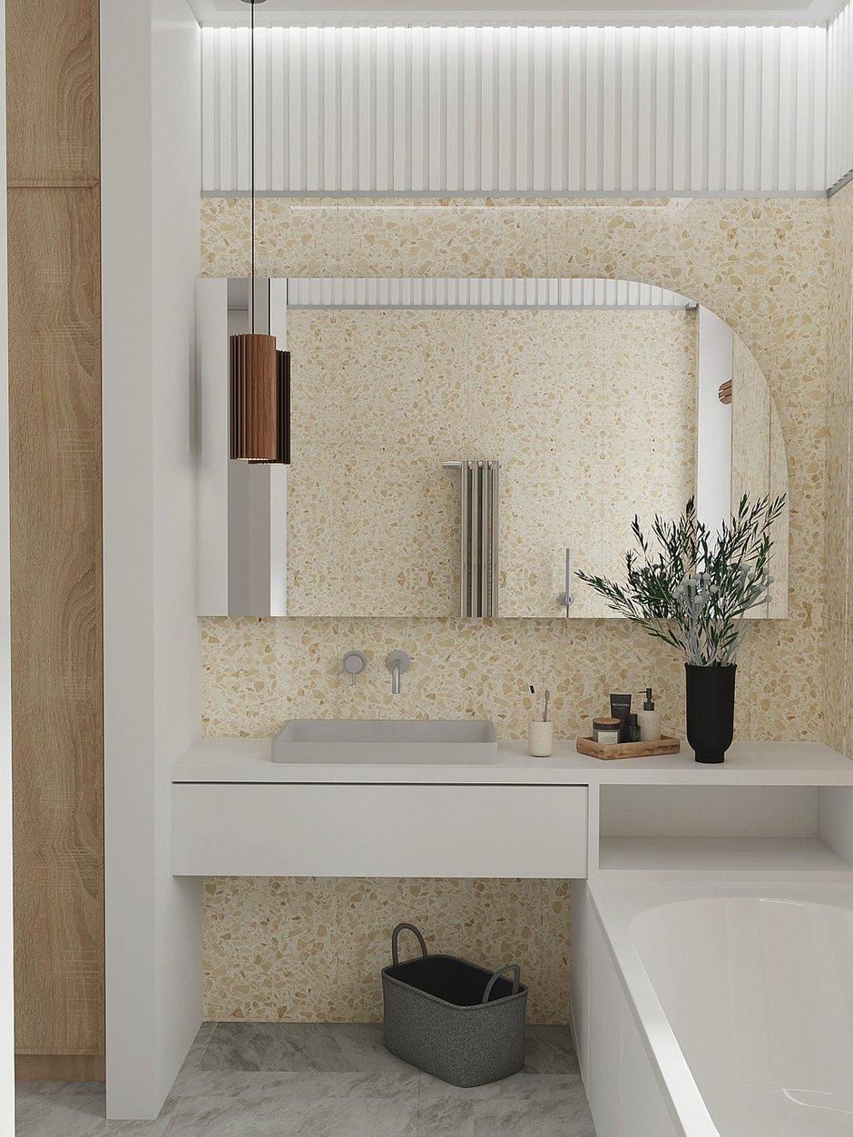 Фотография: Ванная в стиле Современный, Квартира, Проект недели, Москва, 3 комнаты, 60-90 метров, DSGN HUB – фото на INMYROOM