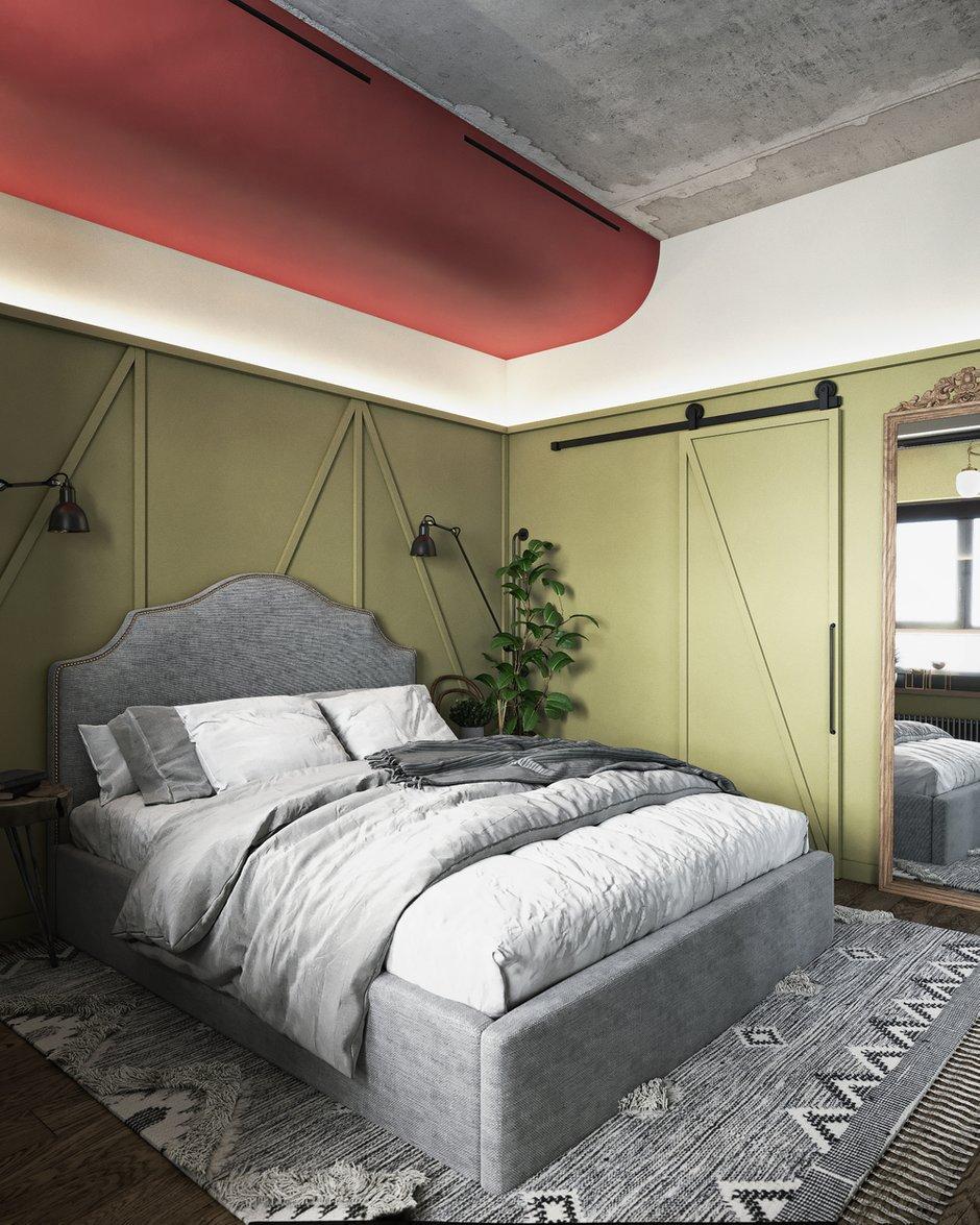 Фотография: Спальня в стиле Эклектика, Квартира, Проект недели, Москва, ToTaste Studio, 3 комнаты, 60-90 метров – фото на INMYROOM