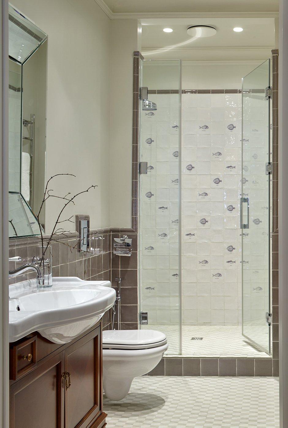 Фотография: Ванная в стиле Классический, Современный, Квартира, Проект недели, 4 и больше, Более 90 метров, #эксклюзивныепроекты, Екатерина Углова – фото на INMYROOM