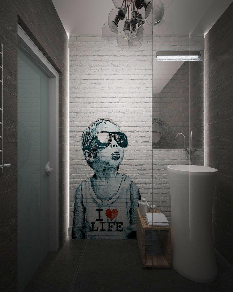 Фотография:  в стиле , Лофт, Квартира, Россия, Проект недели, Диана Карнаухова, Виктория Карякина, MakeDesign – фото на INMYROOM