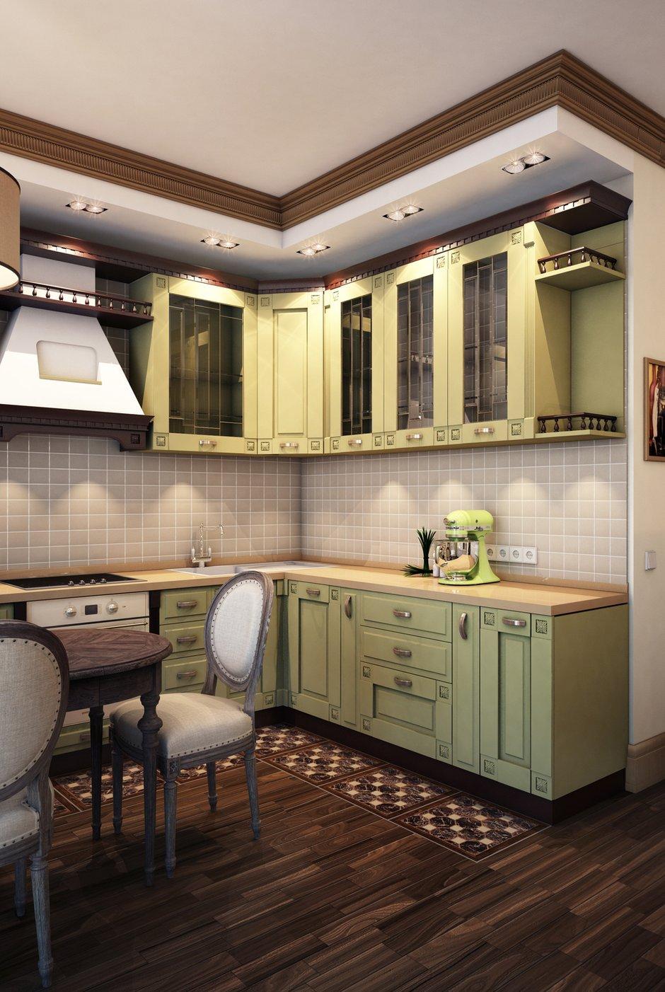 Фотография: Кухня и столовая в стиле Прованс и Кантри, Классический, Квартира, Проект недели – фото на INMYROOM